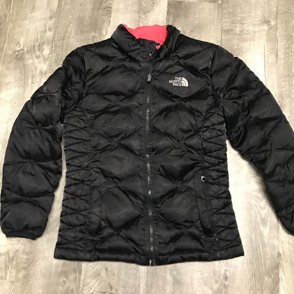 7bdc373e17 The North Face 550 Down Coat Black Girls Medium. M 5aed225a61ca108a06ad1719